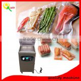 Automatic food meat chicken vacuum sealer sausage rice packer fish fruit vacuum sealing machine price for