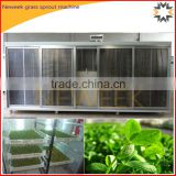 Neweek soilless hydroponic cattle fodder barley sprouts grass sprout machine