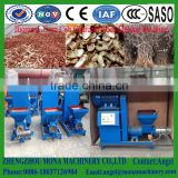 Sawdust Wood chips Charcoal Briquette Making Machine/ Wood charcoal rods briquette extruder machinery line