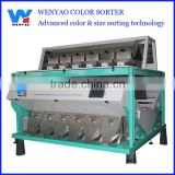 12 chutes electronic seafood color sorter machine
