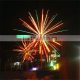 Outdoor Christmas decoration tree colorful environmental led innovative fireworks light