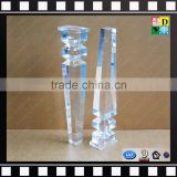 Transparent perspex/acrylic sofa legs, modern legs for sofas, clear acrylic furniture legs