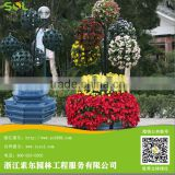 Hangzhou SOL Plastic Hot Sale Garden Decoration hydroponic growing systems hydroponic pot