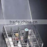 hot sale transparent ps lipstick cosmetic display stand