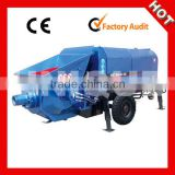 Fine Stone DXBS30-13-56 Trailer Concrete Pump With Boom