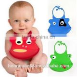 2015 New designs smiling faces fancy baby bibs,silicone fancy baby bibs,cute silicone baby bibs