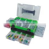 550pcs household hardware tool set in plastic case