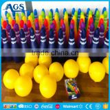 Top quality pvc inflatable bowling set for promotion