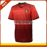 Custom cheap world cup 2014 jersey, Portugal latest home soccer jersey thai quality,wholesale soccer jersey