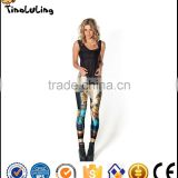 2017 punk rock harajuku black milk push up fitness sexy 3d print retro Egypt pharaoh women leggings