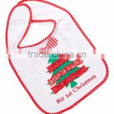 High quality and durable bandana bibs reasonable price christmas organic cotton drool baby bibs