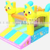 2015 new design great attraction hot seller good guality kitty inflatable bouncer