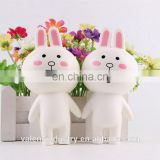 Top Selling Anti Stress Soft PU squishy Kawaii slow rising Cute Rabbit toys for Female Mobile phone/Handbag pendant