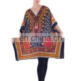 Beautiful Caftan Tunic polyester maxi poncho Women's Kaftan caftan Night wear Hippie Dress Kimono Satiny Silky Look Plus Size