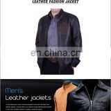 Leather Jacket, HLI Genuine Leather Jacket for Men & Women,