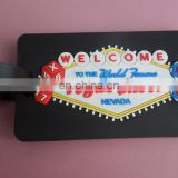 Welcome Vegas Shoot Dice Design Soft PVC Luggage Tag