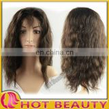 Front Lace Curly Afro Wigs For Black Women