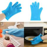 Good quality factory directly heat resistant coated silicone rubber oven gloves set whatsapp: +8615992856971