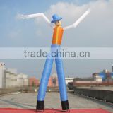 custom 2 legs advertising inflatable air dancer sky man