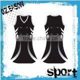 Custom sublimation netball uniforms wholesale netball dresses                                                                                                         Supplier's Choice