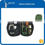 Rifle cleaning kit with cloth bag, gun cleaning kit, gun accessories