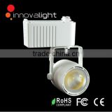 INNOVALIGHT new design white or black color cob led track light 40w led track spot light