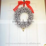 Christmas White Berry Wreath For Holiday front door decor
