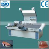 Shoe materials of leather insole cloth cutting machine by oscillating knife
