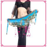New Wave Shape Flannel 300 Pieces Of Metal Coins Major Belly Dance Belt Can Be Used For Women To Exercise Dance