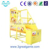 Electronic crazy shoot arcade street basketball machine for sale