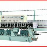 JSE272 ball bearing glass polishing machine/ glass polisher Min. glass:25*25mm glass machine in machinery