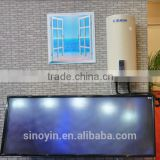100L CE certificate 1.5KW electric booster vitreous enamel water tank balcony hanging solar water heater