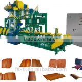 Patented Auto Roofing-Tile Double-Acting Press Line/Auto Assembly Roofing-tile Press Line