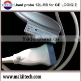 used GE color doppler ultrasound scan transducer 12L-RS for Logiq E