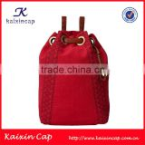 custom small quantity order acceptable high quality wholesale fashion leather strap good backpack brands