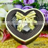 lovely heart shape wedding favor gift boxes,various sizes empty gift boxes for wedding(MWC-029)
