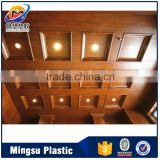 Low Price New Design Laminated PVC Gypsum Ceiling Tiles 600mm