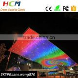 LED stage screen P6 full color LED video display 576mm*576mm working of led display
