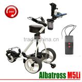 FOLDING DIGITAL REMOTE CONTROL GOLF TROLLEY CADDY CART BUGGY WITH LITHIUM BATTERY