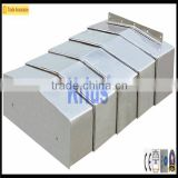 steel telescopic bellow for machine guide rail