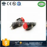 PBS-20B momentary led push button switch double-pole rocker switch push button reset switch(FBELE)