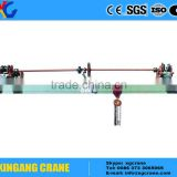 Manual Hand Operation Small Single Girder Bridge Crane