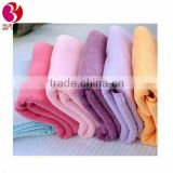 weet candy-colored coral velvet hanging towels rags dish cloths home kitchen custom household