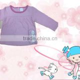 newborn baby girls cotton tops Long sleeve baby T-shirts baby clothing