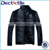 Light cotton clothes black warm jacket wholesale china supplier