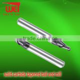 solid carbide tapered ball end mill