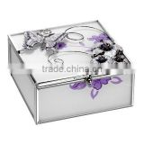 2015 Wedding Decoration funny jewelry box butterfly-bow Heart Shaped Designs Romantic Love jewelry foldable box
