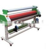 Cold laminatiing machine for indoor material for printing material for banner