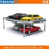 two layer up-down moving car parking system,vehicle moving lifting elevator