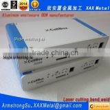 XAX81Alu OEM ODM customized laser cut bend weld sheet aluminum bespoke cross connection cabinets enclosure